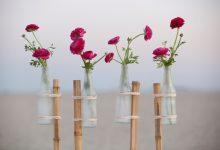 DIY : les vases prennent de la hauteur grâce au bambou