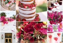 Mon mariage chic et gourmand autour des framboises : une réception parfaite en été