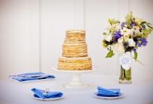 10 gâteaux de mariage où la crêpe est reine
