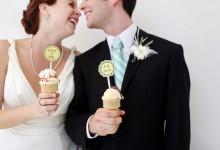 Pourquoi on fond pour le thème de mariage «crème glacée» ?