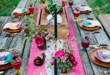 8 décorations de mariage hippie chic qui nous inspirent paix et amour