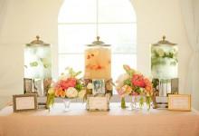 12 idées pour rafraîchir le vin d'honneur d'un mariage en été