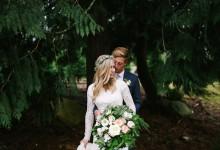 Mon merveilleux mariage doré au cœur de la nature hivernale