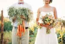 Mon mariage «Bienvenue dans mon potager», un thème qui célèbre la nature