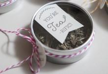 Des boîtes «thé-rrifiantes» à offrir à vos invités