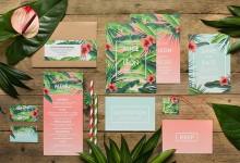 10 splendides papeteries pour un mariage estival dénichées sur Pinterest