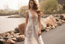 10 robes de mariées avec un décolleté plongeant glamour et élégant pour 2018