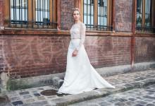 10 étonnantes et somptueuses robes de mariée deux pièces tendance 2018