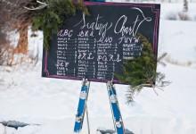 12 décorations incontournables pour célébrer un mariage aux pieds des pistes de ski
