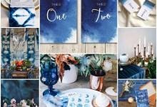Inspiration océan bleu indigo : ce thème de mariage va-t-il vous enchanter ?