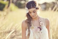Le shopping beauté idéal de la mariée champêtre