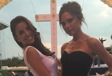 Découvrez la robe de mariée d'Eva Longoria signée Victoria Beckham