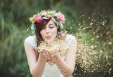 10 idées complètement glitter pour décorer son mariage