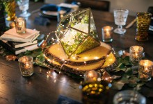 10 jolies manières d'éclairer un mariage chic et cosy à la bougie