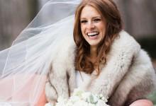 5 conseils pour savoir accessoiriser sa robe de mariée en hiver