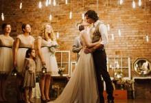 L'infographie qui vous donnera envie d'organiser un mariage industriel chic
