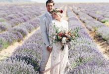 Mon mariage au cœur d'un champ de lavande