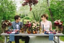 10 idées couleur marsala pour décorer votre wedding day