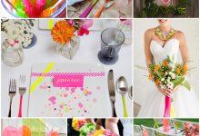 Les couleurs néon au cœur de mon thème de mariage électrisent ma réception