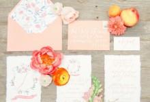6 idées pleines de punch pour organiser un mariage «Peach Echo»
