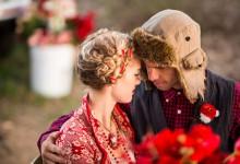 Le mariage scandinave au cœur de l'hiver : une décoration à la modernité enchanteresse