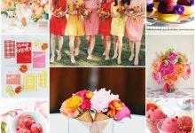 Mon thème de mariage couleur sorbet : une idée gourmande et estivale