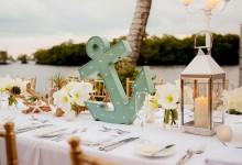 10 jolies inspirations pour décorer un mariage en bord de mer