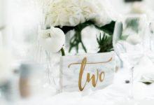 Le marbre, élément central de mon thème de mariage : place au raffinement