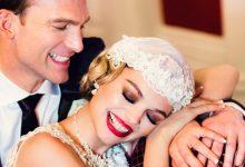 L'esprit d'un mariage rétro et glamour résumé en une belle infographie !