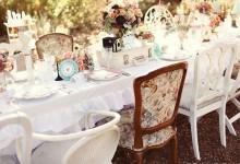 10 décorations pour un mariage romantique et vintage 100% récupération