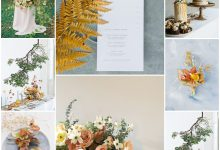 Fleuri, automnal et épuré : ce joli thème de mariage va vous émerveiller