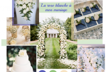 On glisse une douce note de pureté dans son mariage grâce à la rose blanche