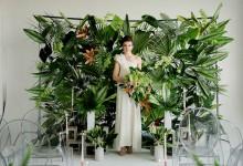 8 idées de murs végétaux pour embellir votre photocall de mariage