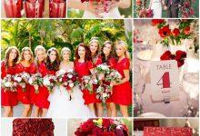 Alerte rouge pour mon thème de mariage : une réception placée sous le signe de l'amour