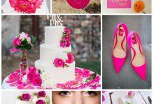 Mariage tendance pop et rose fluo : comment imaginer la décoration ?