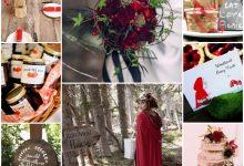 Le conte du Petit Chaperon rouge au cœur d'un mariage champêtre : comment le mettre en scène ?