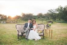 10 manières de réutiliser un canapé vintage en décoration de mariage