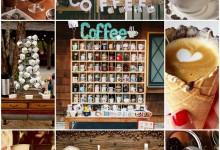 Et si on s'inspirait de ces bonnes idées pour créer un bar à café pour son mariage ?