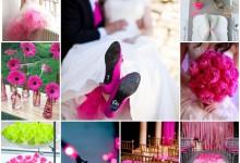 Qui osera la couleur la rose néon pour colorer son mariage ?