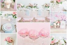 Une bridal shower rose et glamour à organiser avec ses copines avant le mariage !