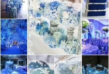 Ma décoration de mariage «ce rêve bleu»