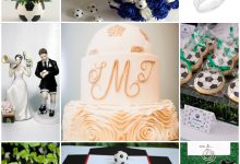Avis aux fans de football : voici une planche d'inspiration pour votre mariage
