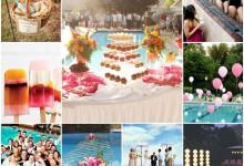 Mon mariage ambiance «pool party», ça déménage !