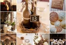 Mon mariage couleur marron glacé, place à l'ambiance chic et gourmande