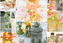 Acidulé, vitaminé, coloré, voilà un mariage estival comme on les aime !