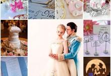Découvrez un mariage féerique inspiré du monde de Cendrillon
