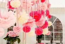 10 idées originales pour glisser des pompons dans sa décoration de mariage