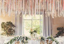 10 idées 100% récup pour décorer facilement votre mariage avec des rubans