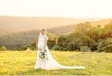 Enceinte, quelle robe de mariée est faite pour moi ?