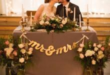 Quels invités placer à la table des mariés?